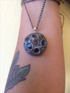 Washer Necklace, Pendant Necklace, Clay Art, Pendants, Handmade, Jewelry, Hand Made, Jewlery, Jewerly