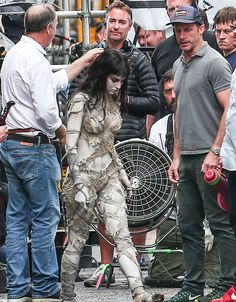 Sofia Boutella is all wrapped up in new Mummy photos - Movie News | JoBlo.com