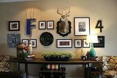 Decorating with deer mounts