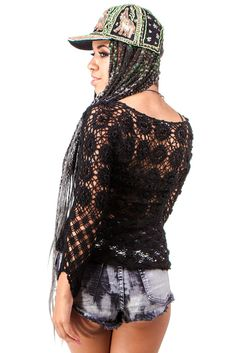 Spider Web Top - XS/S/M
