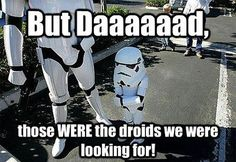 The joke that never gets old!  #StarWarsFunny