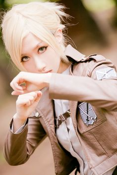 Leonhardt Annie (SAIDA - WorldCosplay) | Shingeki no Kyojin #cosplay #anime