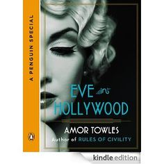 New book from Rules of Civility author, Amor Towles