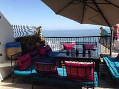 Dfrost Almugar Surf & Yoga House, Morocco The Terrace
