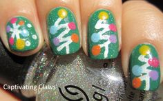 My today's post which is all about 50 easy Christmas tree nail art designs, ideas & stickers of these Xmas nails can easily be made on our own so there is nothing to worry about. Christmas Tree Nail Art, Holiday Nail Art, Christmas Nail Designs, Christmas Colors, Xmas Tree, Christmas Trees, Diy Christmas, Fancy Nails, Cute Nails