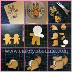 Thank Roo - Kangaroo Cookie Cutter Punch Card - Carolyn Bennie