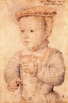 Hercule-François duc d'Alencon by Francois Clouet