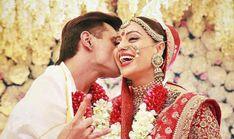 Bipasha Basu Karan Singh Grover Shower Love On Each Other On Their Second Wedding Anniversary Wedding Shoot, Wedding Makeup, Wedding Day, Second Wedding Anniversary, Happy Anniversary, Wedding Stills, Bollywood Wedding, Indian Bridal Makeup, Mehndi Photo