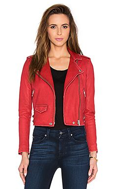IRO Ashville Jacket in Red