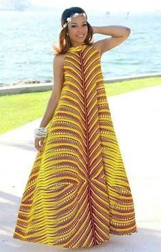 Maxi African dress ,Dashiki Dress, African women's dress, handmade dashiki dress, African women clothing African Dresses For Women, African Print Dresses, African Attire, African Wear, African Fashion Dresses, African Women, African Prints, African Style, Fashion Outfits
