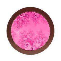 Soft #Pink #Frost of Morning #Fractal #Jewelry #Case> #Artist4God....#fractals #accessories #designer