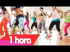 1 HORA DE RITMOS FITNESS ! Aula Completa by Fabio Tiger - YouTube