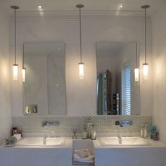 Bathroom Pendant Lights Bathroo Lighting Ideas With Ceiling Mounted Ribbed  Light Pendant Side Of Mirror