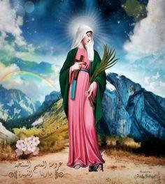 Saint Marina - Bride of Christ by on DeviantArt Braut Christi, Bride Of Christ, Religious Art, Madonna, Disney Characters, Fictional Characters, Saints, Religion, Aurora Sleeping Beauty
