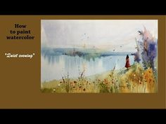 Keeping Washes Clean and Colorful in Watercolor - YouTube