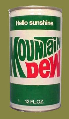 Mountain Dew Addicts - Devoted to Dew News and Rumors Mountain Dew, Vintage Advertisements, Vintage Ads, Vintage Food, Pop Cans, Vintage Packaging, Pepsi Cola, Soda Bottles, Good Ole