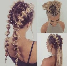 Pin by Evelyn Stelfox-Ventimiglia on Hair & Hair-dos in 2019 « Beauty MY Fast Hairstyles, Braided Hairstyles, Wedge Hairstyles, Casual Hairstyles, Hairstyles Short Hair, Hairstyles For Women, Waitress Hairstyles, Athletic Hairstyles, Going Out Hairstyles
