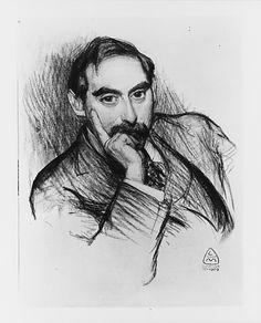 Leo Mielziner ~ Louis Loeb, 1909 (charcoal)