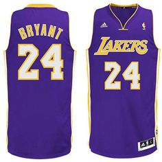 5fb78e67a315 Kobe  Bryant Jersey - Los Angeles  Lakers Road Purple Swingman Jersey. The  name and numbers are stitched.  16.88
