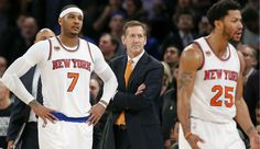 NBA TRADE RUMORS KNICKS' CARMELO ANTHONY TO CAVS, DERRICK ROSE TO LAKERS HIGHLIGHT EIGHT-PLAYER DEAL