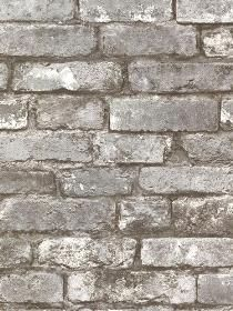 Brewster Wallcovering Oxford Wall Paper Brickwork Pewter Exposed Brick Texture pattern 260421259. Keywords describing this pattern are faux, bricks, brickwall.  Colors in this pattern are Medium Gray, Pink, Tan.  Alternate color patterns are 260421258;Page:41;260421260;Page:47;260421261;Page:45.  Product Details:  strippable  washable  Material is Non-Woven. Product Information:  Book name: Oxford Pattern name: Brickwork Pewter Exposed Brick Texture Pattern #: 260421259 Repeat Length: 21 0…