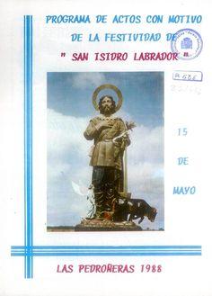 Fiestas en Las Pedroñeras (Cuenca), en honor de San Isidro Labrador. 15 de mayo de 1988. #Fiestaspopulares #LasPedroñeras #Cuenca
