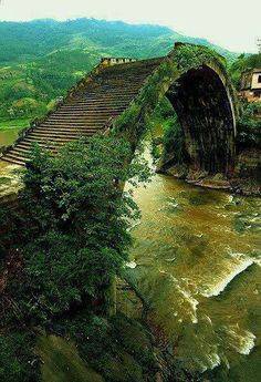 Exotic Rainbow Bridge,  China, | Adventure | Asia