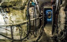 urban tunnels pipes industrial plants wallpaper background