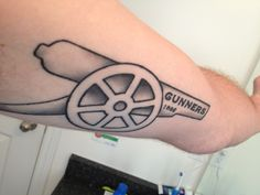My arsenal tattoo