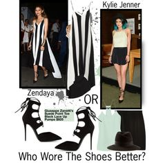 """""""Who Wore Them Better? {Zendaya or Kylie Jenner}"""" by beautifully-eclectic on Polyvore"""