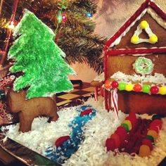 How to Make a Vegan Gingerbread House |   http://www.peta.org/living/food/make-vegan-gingerbread-house/