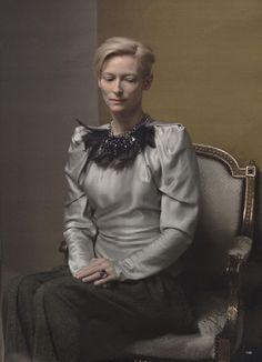 Tilda Swinton.