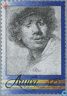 Postage Stamps - Aruba [ABW] - Rembrandt