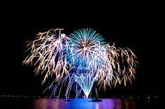 One of the prettiest 4th of July celebrations I've seen was on Lake Tahoe.
