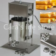 355.00$  Buy now - http://alick8.shopchina.info/go.php?t=32566238380 - 12L churros maker  #aliexpresschina