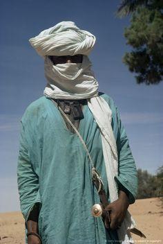 Tuareg man, Algeria..