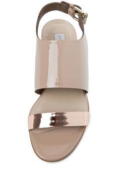 minimal sandal //Stella McCartney