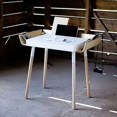 Bureau Design My Writing Desk 1 tiroir - Blanc  - Emko - Image 4