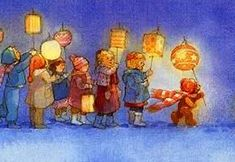 You know you're German when you went with your lantern and your lantern went with you... - 9GAG Fete Saint Martin, Elsa Beskow, Waldorf Crafts, Waldorf Preschool, Illustrator, All Souls Day, Lantern Festival, Paper Lanterns, Children's Book Illustration