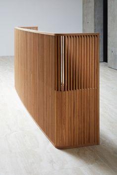 The Copyright Building Derwent London - Balcony Desk Reception Desk Design, Reception Counter, Office Reception, Interior Exterior, Interior Design, Interior Modern, Design Design, Lawyer Office, Counter Design