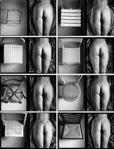 Gabriele Basilico's Contact Series from 1984 and the reaction of design chairs on the derrière. The ultimate tribute to design by one of Italy's leading fine art photographers, Gabriele Basilico,. Landscape Photography, Art Photography, Dramatic Photography, Architectural Photography, Atelier Photo, Pattern Recognition, Installation Art, Human Body, The Funny