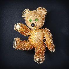 Teddy Bear Brooch - 50-1-4451 - Lang Antiques