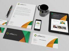 ReflexData Branding by Jamie Hunter