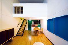 Appartement de la Cité Radieuse (Marseille) de le Corbusier - Galerie 'architecture moderne et contemporaine ©Nicolas Borel
