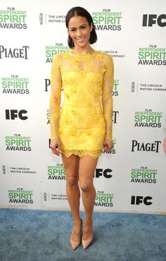 Paula Patton at the Spirit Awards