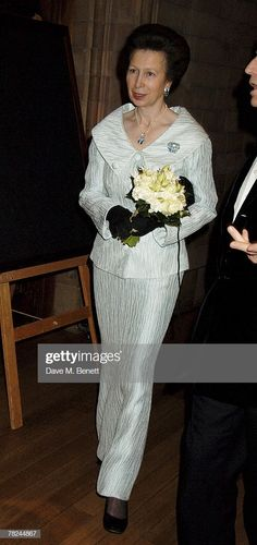 Princess Anne attends the Festival of Trees Gala Dinner, at the Natural History Museum on December 2007 in London, England. Get premium, high resolution news photos at Getty Images Royal Princess, Princess Diana, Duchess Kate, Duke And Duchess, Princesa Anne, Royal Clothing, December 4, London December, British Royal Families