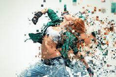 Pixelated Photoshop Action by sevenstyles on Envato Elements Sketch Photoshop, Best Photoshop Actions, Photoshop Brushes, Adobe Photoshop, Photoshop For Photographers, Photoshop Photos, Photoshop Photography, Photoshop Filter Effects, Envato Elements