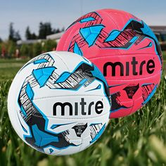 Mitre Malmo Plus Football Pink