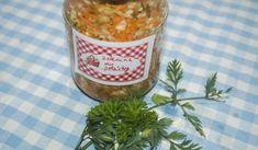 Jak uskladnit zeleninu do polévky   recept na zeleninu v soli
