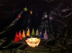 Seasons table - eight days of Hanukkah